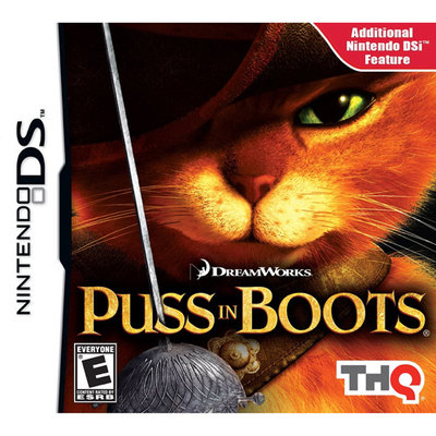THQ 785138365190 Puss in Boots for Nintendo DS