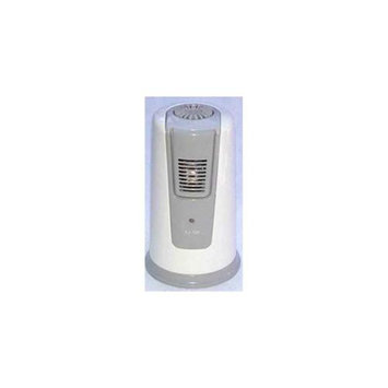 Koolatron XJ100WM Air Gold Portable Air Purifier with Low Voltage Indicator HI Mode Cycles and 4 C-size Batterie in
