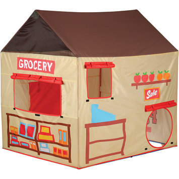 Pacific Play Tents 2 in 1 Grocery/Puppet Theater House Tent