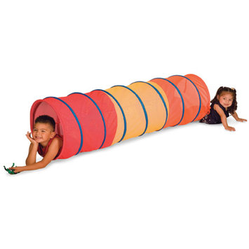 Stansport Pacific Play Tents 20810 6 ft. Red See Through Institutional Tunnel