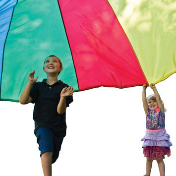 Pacific Play Tents 24 Ft. Parachute with No Handles includes Carry Bag