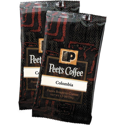 PEE504911 - Peet's Coffee & Tea Coffee Portion Packs; Colombian; 2.5 oz Frack Pack; 18/Box