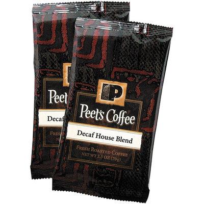 Peet's Coffee & Tea COFFEE PORTION PACKS, HOUSE BLEND, DECAF, 2.5 OZ FRACK PACK, 18/BOX
