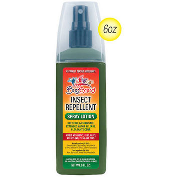 Bug Band - Insect Repellent Extended Release Geraniol Spray Lotion - 6 oz.