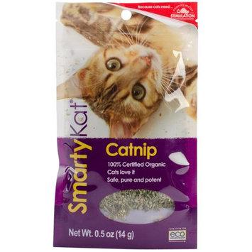 SmartyKat Certified Organic Catnip 0.5 Ounce Pouch