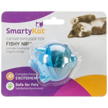 Worldwise SmartyKat FishyNip Refillable Catnip Diffuser Toy