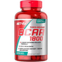 MET-Rx - Timed-Release BCAA 1800 - 120 Coated Caplets