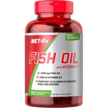 MET-Rx Fish Oil with Vitamin D 90 Softgels