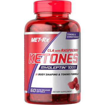 Met-rx8913807147 MET-Rx - CLA with Raspberry Ketones Myoleptin 1000 - 90 Softgels