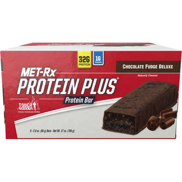 Met-Rx USA Protein Plus Bar Chocolate Fudge - 9ct