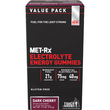 Md Science Lab M.D. Science Lab Electolyte Energy Gummies Dark Cherry 7 Pouches