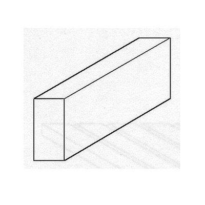 Evergreen Styrene Strip 040 x 40mm (015 x 0156')
