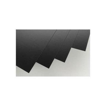 9114 Black Sheet .030x8x21 (4) EVGU9114 EVERGREEN SCALE MODELS