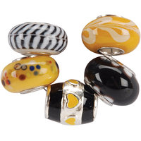 JESSE JAMES Uptown Bead Collection 5/Pkg-Style #16