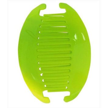 Coveryouhair CoverYourHair 61220 Large Interlock Slide Comb Green