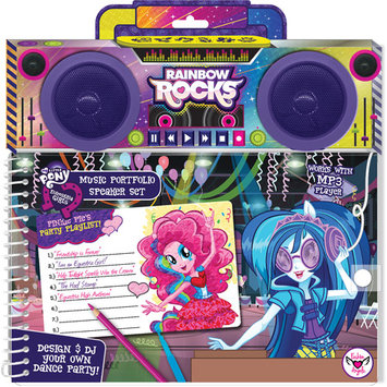 My Little Pony Equestria Girls Music Doodle Portfolio by Fashion Angels