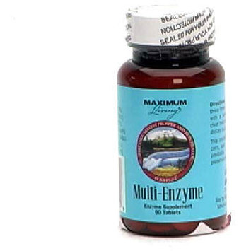 Maximum Living, Inc. Multi-Enzyme, Tablets, 90 tablets