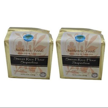 Authentic Foods Sweet Rice Flour Superfine Gluten Free - 3 lbs