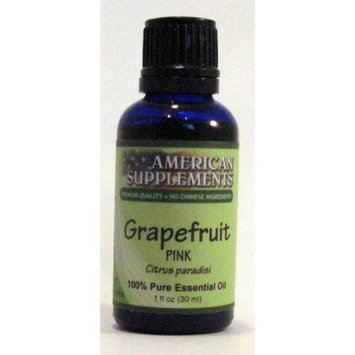 Grapefruit (Pink) Essential Oil No Chinese Ingredients American Supplements 1 oz