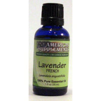 Lavender (France) Essential Oil No Chinese Ingredients American Supplements 1 oz