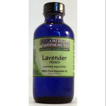 Lavender (France) Essential Oil No Chinese Ingredients American Supplements 4 oz