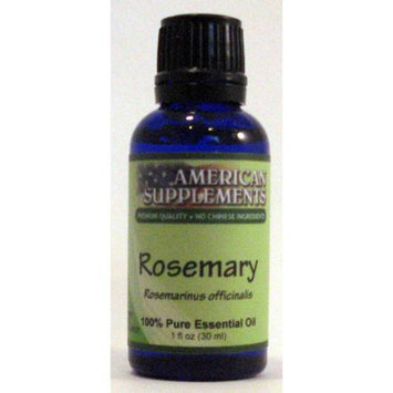 Rosemary Essential Oil No Chinese Ingredients American Supplements 1 oz Oil