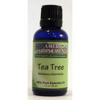 Tea Tree Essential Oil No Chinese Ingredients American Supplements 1 oz Oil