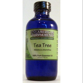 Tea Tree Essential Oil No Chinese Ingredients American Supplements 4 oz Oil
