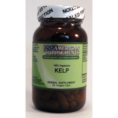 Kelp No Chinese Ingredients American Supplements 90 VCaps
