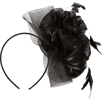 Magid Flower Fascinator Black - Magid Hair Accessories