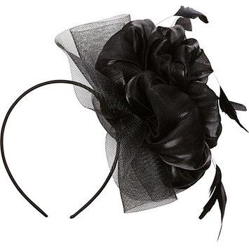 Magid Flower Fascinator Black - Magid Hair Accessories