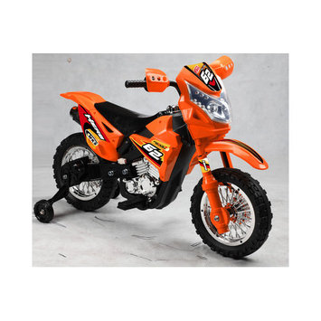Vroom Rider VR093 Battery Operated 6V Kids Dirt Bike (Red)