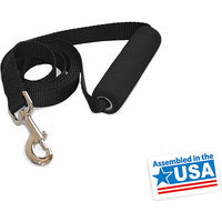Majestic Pet Majestic Pet 1in x 4ft Easy Grip Handle Leash Green - TEXCOL INTERNATIONAL INC.