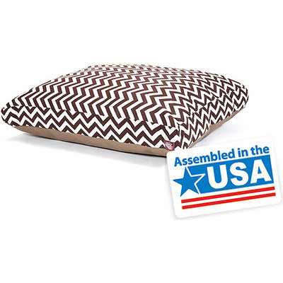Majestic Pet Products, Inc. Majestic Home Goods Zig Zag Small Rectangle Pet Bed