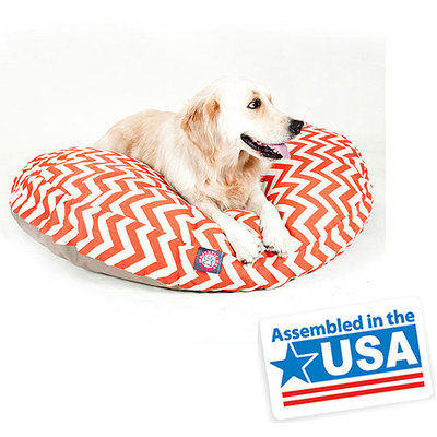 Majestic Pet Products, Inc. Majestic Home Goods Zig Zag Small Round Pet Bed