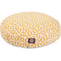 Majestic Pet Products, Inc. Aruba Round Pet Bed Color: Citrus, Size: Medium - 36