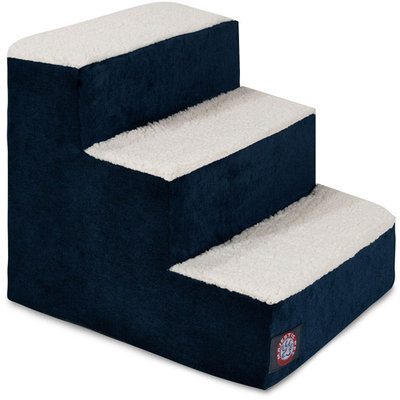 Majestic Pet Products, Inc. Villa 3 Step Pet Stair Color: Navy