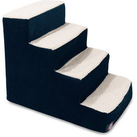 Majestic Pet Products, Inc. Villa 4 Step Pet Stair Color: Navy