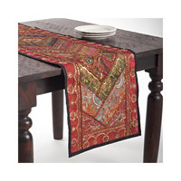 Saro Handmade Sari 'Sitara' Table Runner