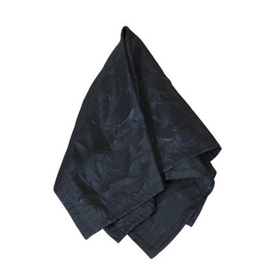Eziba Crushed Black Napkins (Set of 4)