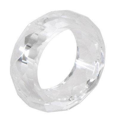 Saro Crystal Napkin Ring (Set of 4)