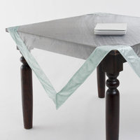 Saro Sheer Velvet Trimmed Table Linens