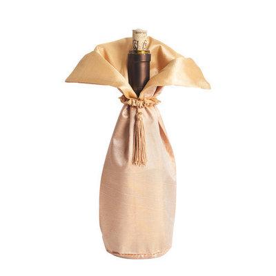 Eziba Classic Design Chocolate Color Bottle Dresses (Set of 6)