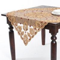 Saro Hand Beaded Design Table Topper or Runner