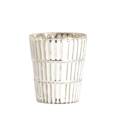 Saro Glass V997 Candle Holder