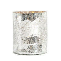 Saro Glass V902 Candle Holder