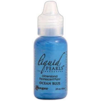 Ranger 451983 Liquid Pearls Glue .5 Ounce Bottle-Ocean Blue