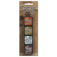Ranger Distress Mini Ink Kits-Kit 8