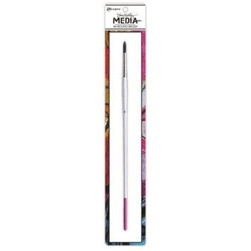 Ranger Dina Wakley Media Stiff Bristle Paint Brush 6 Round