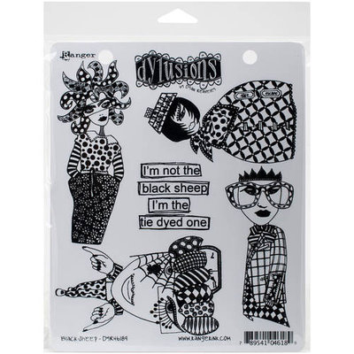 Ranger Dyan Reaveley's Dylusions Cling Stamp Collections 8.5